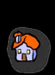 pembe ev iconu